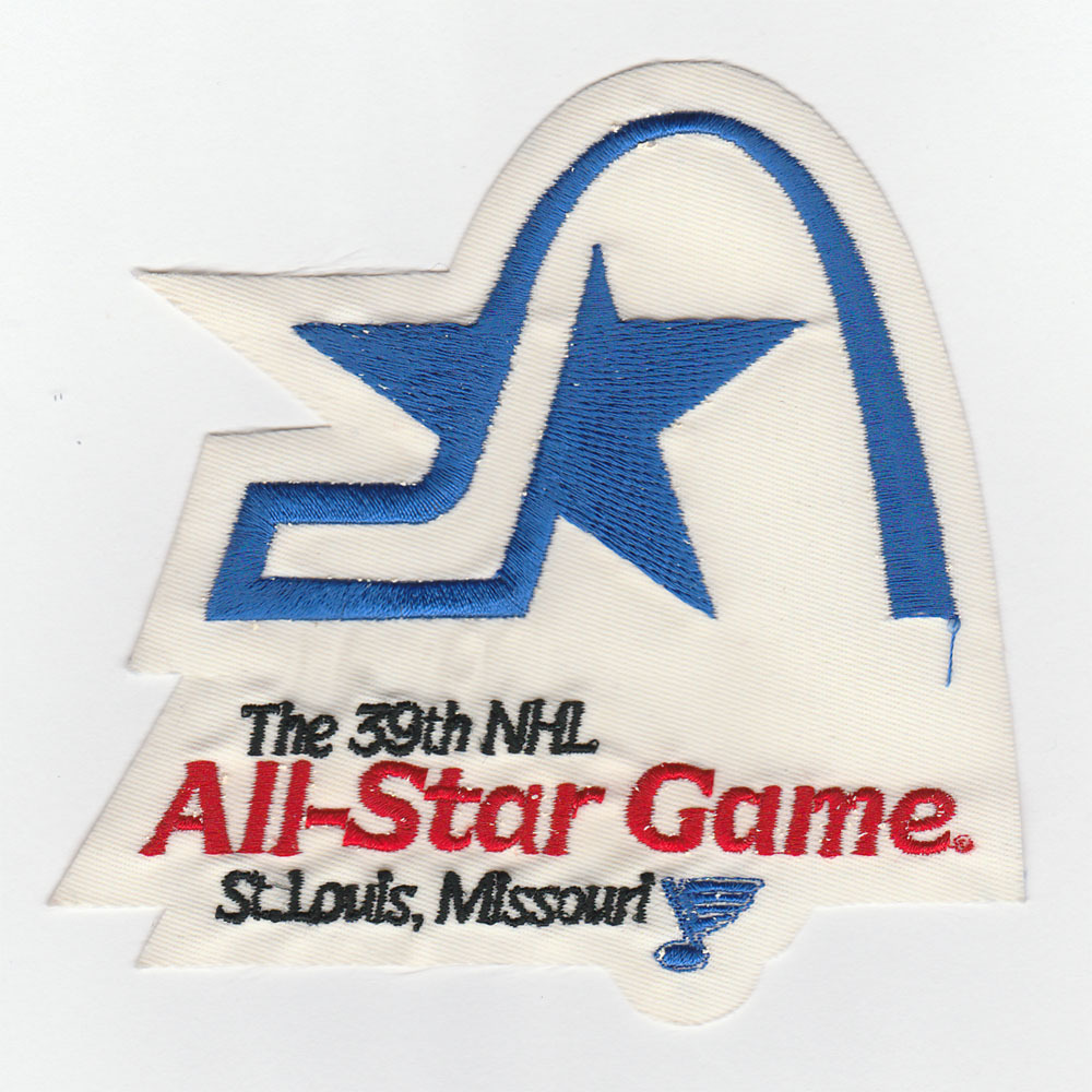 St. Louis Blues 1988 NHL All-Star Game Jersey Patch