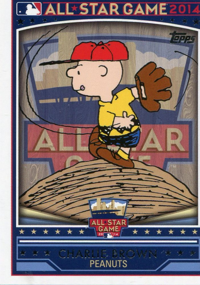 2014 Topps All-Star FanFest #WRCB Charlie Brown