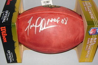 HOF - 49ERS FRED DEAN SIGNED AUTHENTIC FOOTBALL