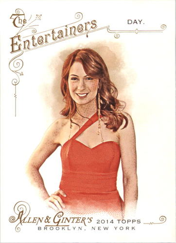 Photo of 2014 Topps Allen and Ginter #119 Felicia Day