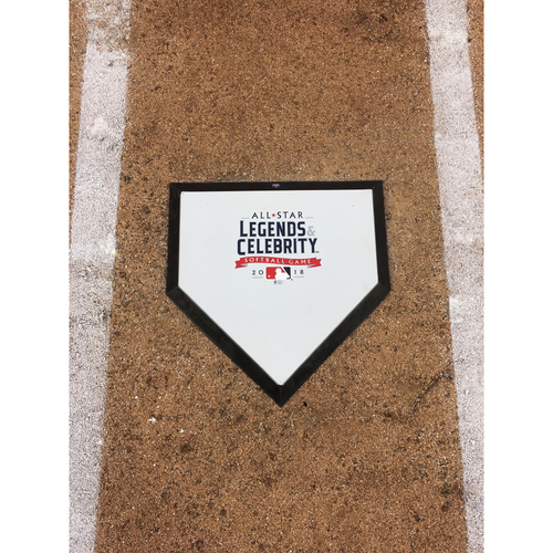 Photo of 2018 MLB All-Star Legends & Celebrity Softball Game - Game-Used Home Plate