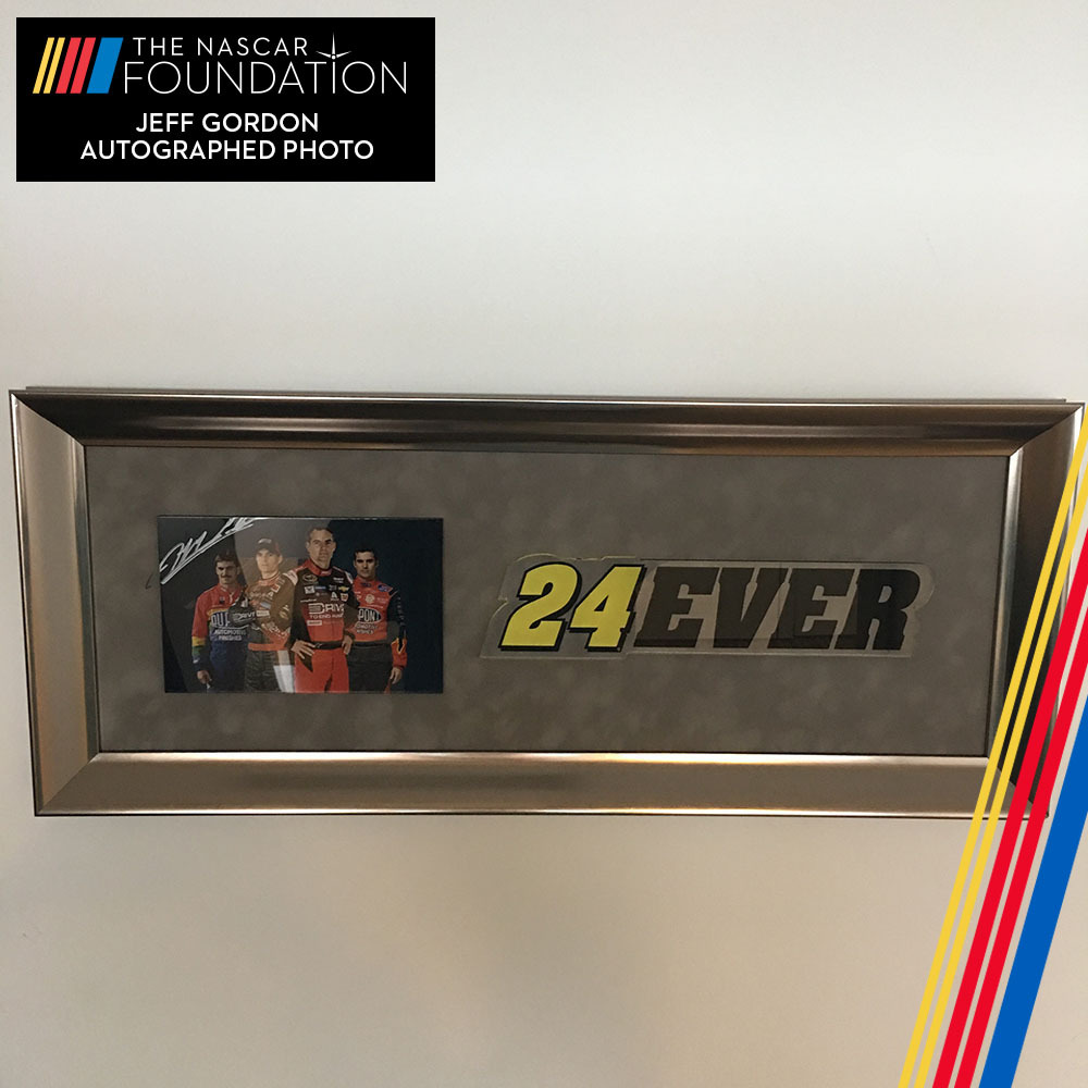 NASCAR's Jeff Gordon Autographed Photo!