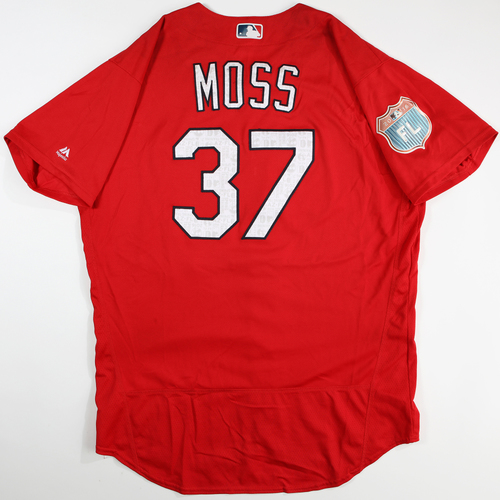 Photo of 2016  Spring Training -  Game-Used Jersey - Brandon Moss (Cardinals) - Size 48