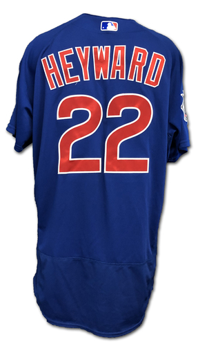 Photo of Jason Heyward Team-Issued Jersey -- Size 46 -- Spring Training 2019