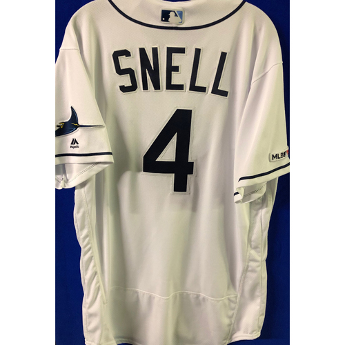 Photo of 2019 Opening Day Game Used Jersey: Blake Snell - March 28 v HOU, April 2 v COL - 16 TOTAL STRIKEOUTS