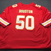 044ec2d4e29 Chiefs - Justin Houston Signed Replica Jersey Size XXXL