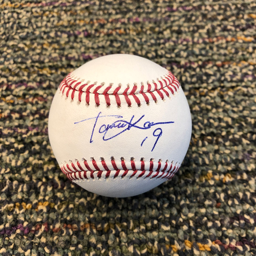 Photo of Buster Posey BP28 Foundation - Autographed Baseball signed by New York Yankees Starting Pitcher Masahiro Tanaka