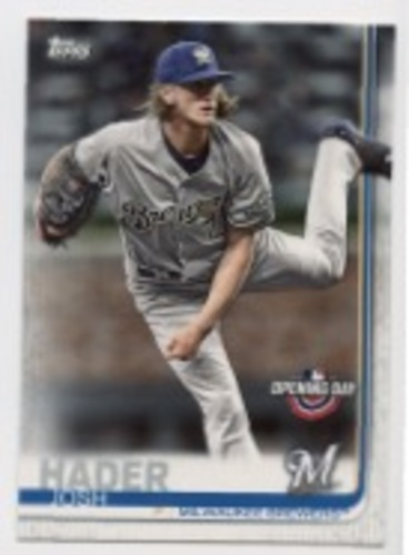 Photo of 2019 Topps Opening Day #115 Josh Hader