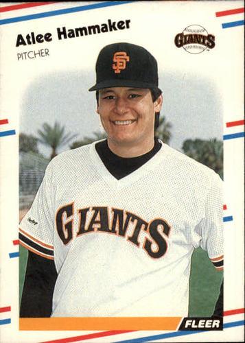 Photo of 1988 Fleer #83 Atlee Hammaker