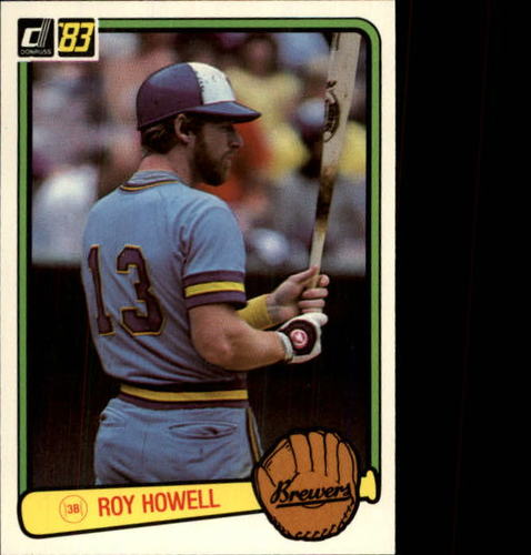 Photo of 1983 Donruss #358 Roy Howell