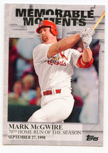 Photo of 2017 Topps Memorable Moments #MM14 Mark McGwire