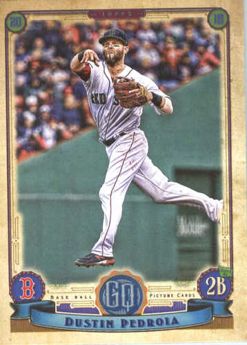 Photo of 2019 Topps Gypsy Queen #75 Dustin Pedroia