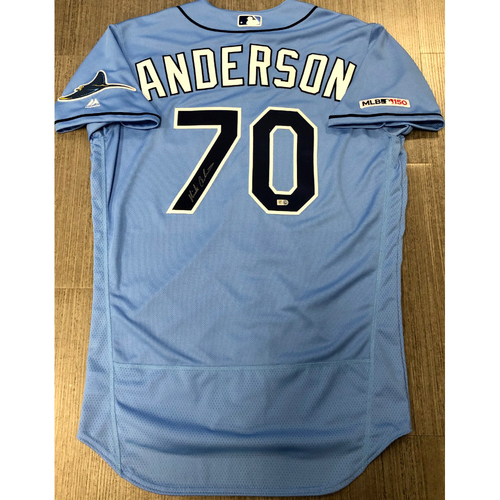 Photo of Autographed Jersey: Nick Anderson
