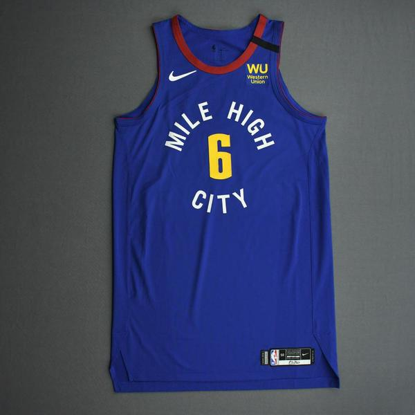 Image of Keita Bates-Diop - Denver Nuggets - Game-Issued Statement Edition Jersey - 2019-20 NBA Season Restart with Social Justice Message