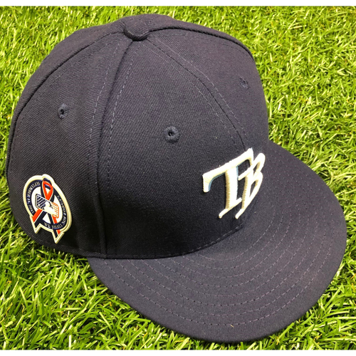 Game Used Cap: Jake Faria - September 11, 2018 v CLE