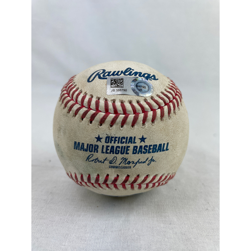 Photo of George Springer Home Run Baseball - 8/29/2020 vs. OAK (Game 2)