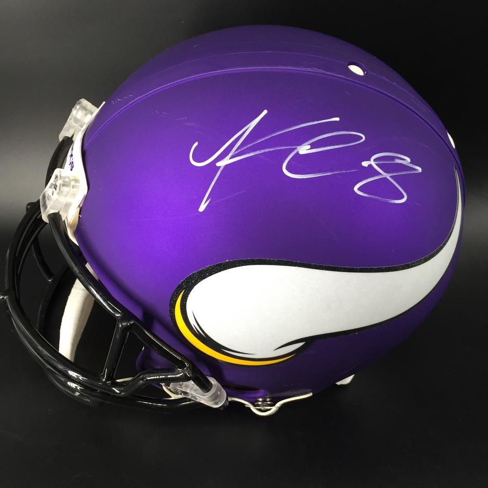 NFL - Vikings Kirk Cousins Signed Proline Helmet