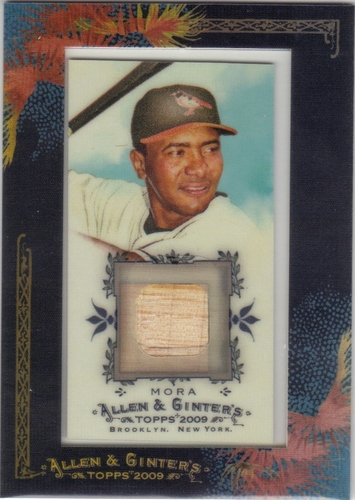 Photo of 2009 Topps Allen and Ginter Relics #MMO Melvin Mora Bat C