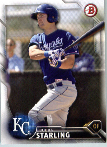 Photo of 2016 Bowman Prospects #BP138 Bubba Starling