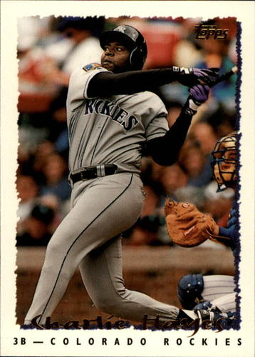 Photo of 1995 Topps #81 Charlie Hayes