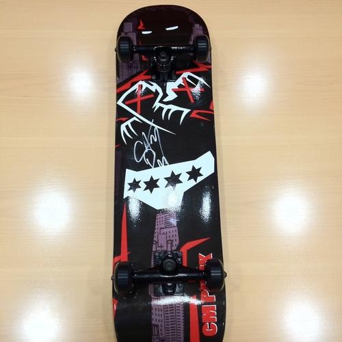 CM Punk SIGNED Skateboard