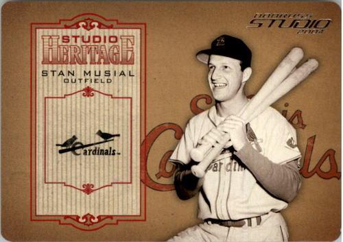 Photo of 2004 Studio Heritage Die Cut #10 Stan Musial