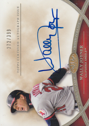 Photo of 2012 Topps Tier One Crowd Pleaser Autographs #WJ Wally Joyner/399