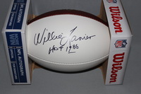 HOF - CHIEFS WILLIE LANIER SIGNED PANEL BALL