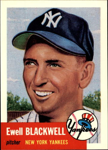 Photo of 1991 Topps Archives 1953 #31 Ewell Blackwell