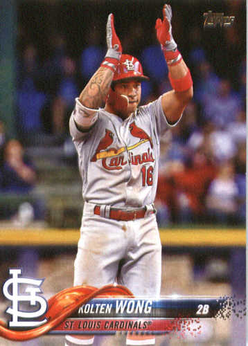 Photo of 2018 Topps #347 Kolten Wong