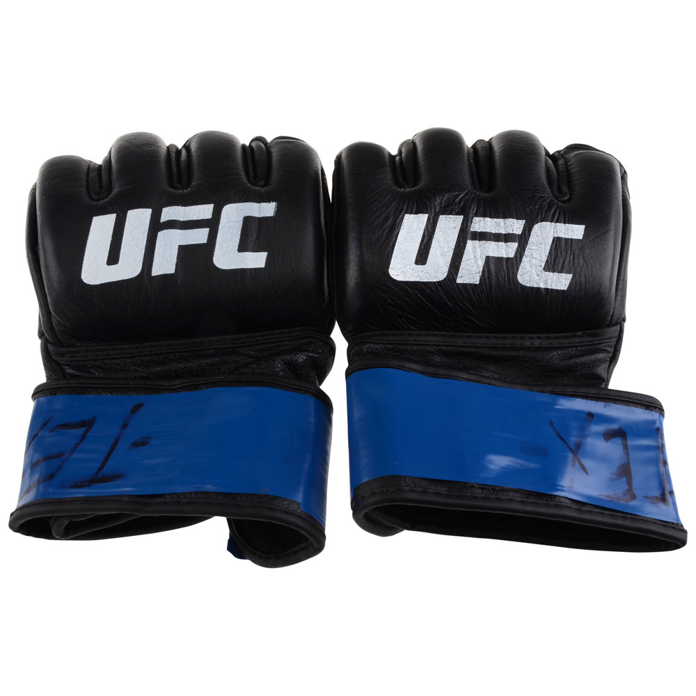 John Dodson Ultimate Fighting Championship UFC 228: Woodley vs. Till Fight-Worn Gloves