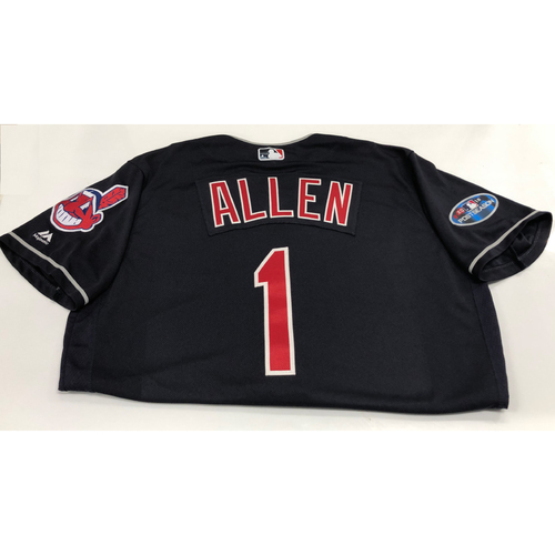 Photo of Greg Allen 2018 Post Season Alt. Road Jersey