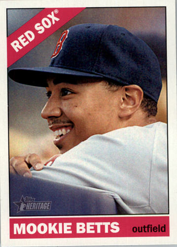 Photo of 2015 Topps Heritage #45 Mookie Betts