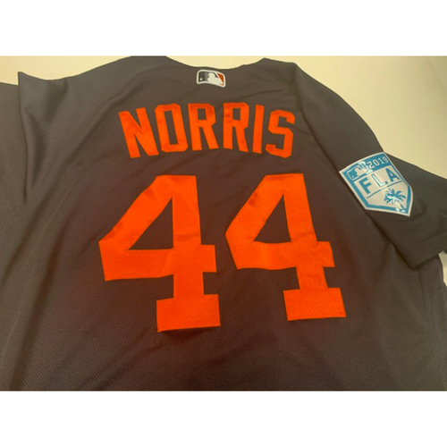 Photo of Team-Issued Daniel Norris Road Spring Training Jersey