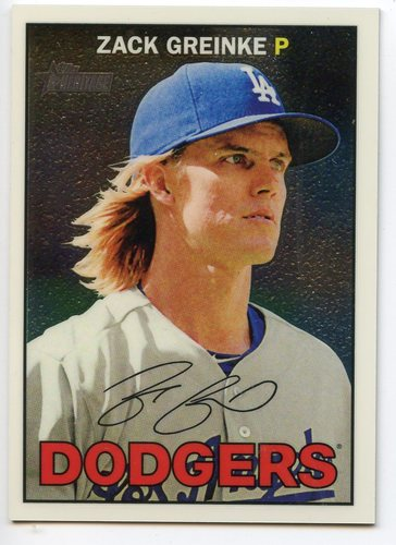 Photo of 2016 Topps Heritage Chrome #THC130 Zack Greinke