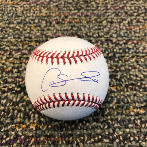 Photo of Buster Posey BP28 Foundation - Autographed Baseball signed by New York Yankees Catcher Gary Sanchez