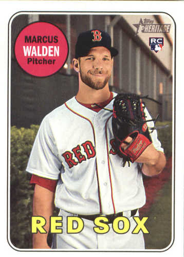 Photo of 2018 Topps Heritage #605 Marcus Walden RC