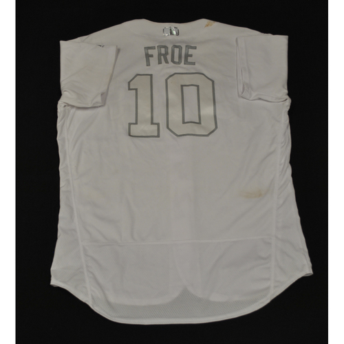 "Photo of Hunter ""FROE"" Renfroe San Diego Padres Game-Used 2019 Players' Weekend Jersey"