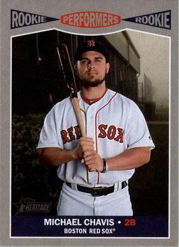 Photo of 2019 Topps Heritage Rookie Performers #RP10 Michael Chavis