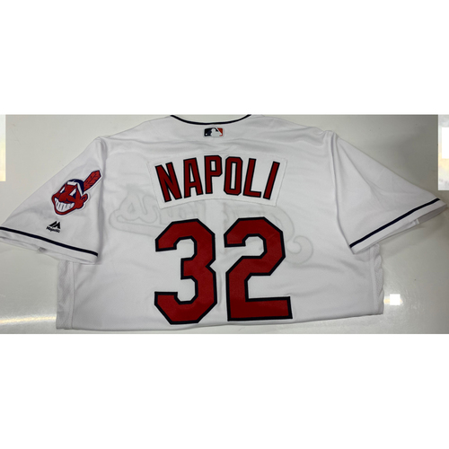 Photo of Mike Napoli Team-Issued Home Jersey