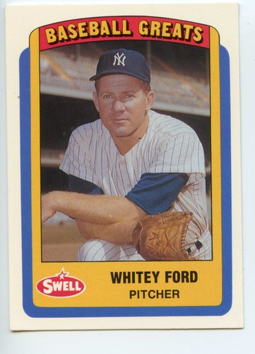 Photo of 1990 Swell Baseball Greats #8 Whitey Ford