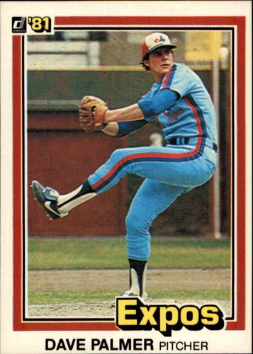 Photo of 1981 Donruss #451 David Palmer
