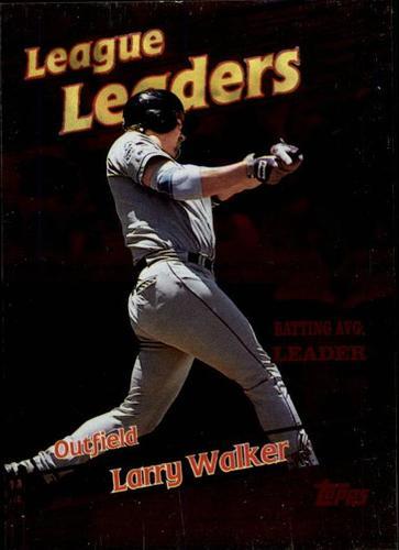 Photo of 1999 Topps #221 Larry Walker LL