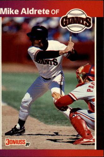 Photo of 1989 Donruss #140 Mike Aldrete