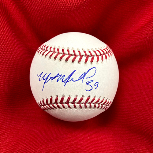 Photo of Miles Mikolas Autographed Baseball