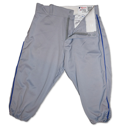 Brandon Nimmo #9 - Team Issued Road Grey Pants - 2019 Season