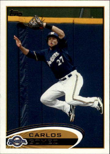 Photo of 2012 Topps #146 Carlos Gomez