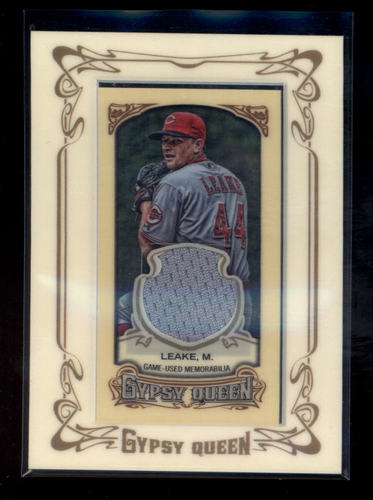 Photo of 2014 Topps Gypsy Queen Framed Mini Relics #GMRML Mike Leake