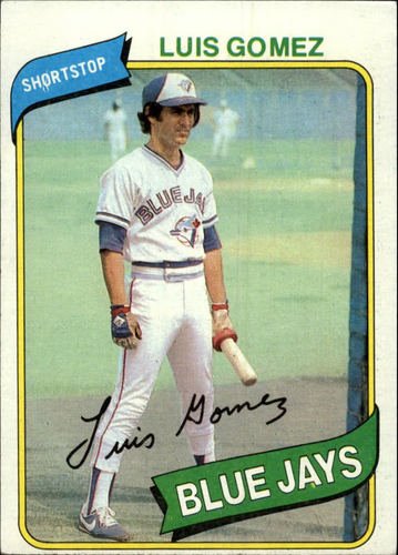 Photo of 1980 Topps #169 Luis Gomez