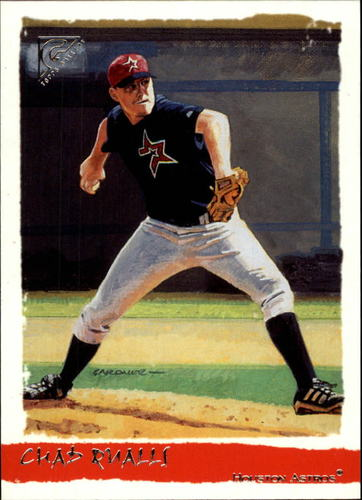 Photo of 2002 Topps Gallery #177 Chad Qualls FYP RC
